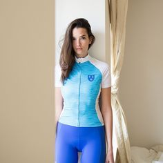 """""""Blue Water Jersey + Blue Shorts. Photographed in Munich with @kidister""""instagram.com"""