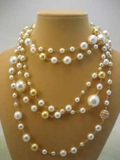 Layered Pearl Necklace, Fashion Beautiful, Jewelry Necklaces, Bridal Pearls, Beautiful Necklace, Pearl Necklaces
