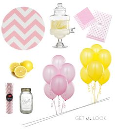 Get the look for your very own Pink Lemonade inspired birthday party: http://www.stylemepretty.com/living/2013/04/12/first-birthday-party-from-a-dominick-abby-jiu/
