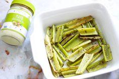 Oven Roasted Celery Fries (Paleo, Vegan, Whole 30)