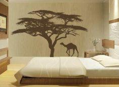 Umbrella acacia tree (minus the camel)