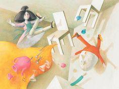 'Binette Schroeder: The Beautiful Fantasy World' From 'Lupinchen' (1968-69)
