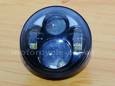 12894 motorcycle-parts Black 5.75 5 3/4 Motorcycle Projector Daymaker LED Light Bulb Headlight 4 Harley  BUY IT NOW ONLY  $112.48 Black 5.75 5 3/4 Motorcycle Projector Daymaker LED Light Bulb Headlight 4 Harley...