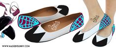 SPIDER GWEN | Gwen Stacy | Marvel Comics | Comic Book | Superhero Shoe Design for FLATS | Hand Painted by MadeByBunny on Etsy https://www.etsy.com/listing/252532733/spider-gwen-gwen-stacy-marvel-comics