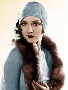 leila hyams actress in color 20s Fashion, Vintage Fashion, Fashion Rings, Vintage Girls, Vintage Outfits, Vintage Woman, Fotografia Retro, Leila Hyams, Gatsby Style