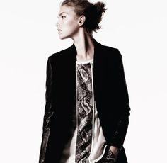 via Fashion Gone Rogue    #snakeskin #snakeprint #fashion #editorial #arizona #muse