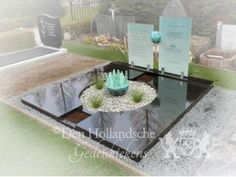 Grafmonument kunst When I Die, Memento Mori, Monuments, Cemetery, Ornament, Fences, House Styles, Table, Design