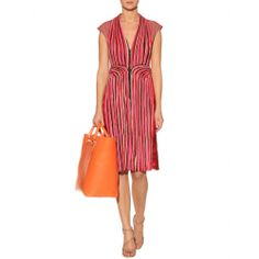 Bottega Veneta - MIXED-MEDIA DRESS - mytheresa.com GmbH
