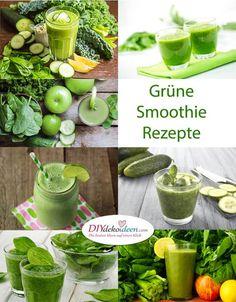 Diese gesunden Grüne Smoothie Rezepte wirst du lieben.