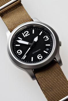 ♂ Masculine watch Seiko Military Custom by Shane Lin