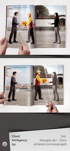 DHL Press Advertising - Agency: Shanghai J&J - China