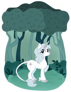 The Last Unicorn/My Little Pony crossover. love.