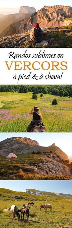 The Vercors in summer: sublime hikes and secret nuggets Europe Destinations, Europe Travel Tips, Rando Cheval, Weekend France, 7 Continents, Les Cascades, Beaux Villages, Places Of Interest, France Travel