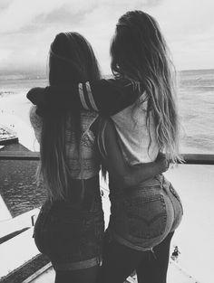 best friends. summertime