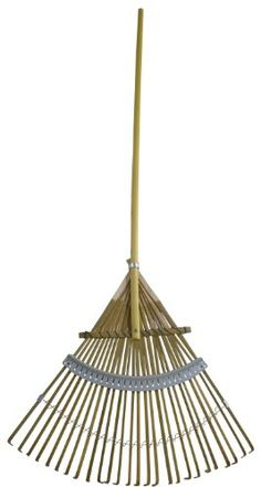 Flexrake CFP24 24Inch Bamboo Rake with 48Inch Wood Handle ** Want to know more, click on the image.