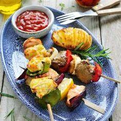 Vlees of vis bakken met een lekker krokant laagje kan ook in de airfryer, zonder gebruik te maken van vet. Verwarm de airfryer altijd 3 minuten voor bij het bakken van vlees of vis zodat het meteen dichtschroeit.