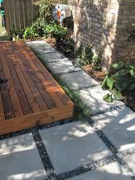 Interlocking Outdoor Flooring Over Concrete  Outdoor Deck