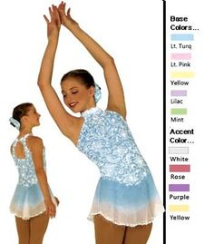 Sharene 81-16 Skating Dress
