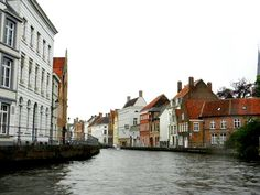 Canal in Ghent, Belgium