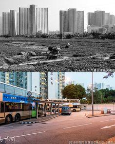 深水埗大埔道與北河街交界1954年 in 2019   深水埗 Sham Shui Po   Hong kong, History of hong kong, China