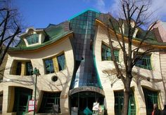 The Crooked House, Sopot, Poland, Architect s of Szotynscy Zaleski -- Love this!