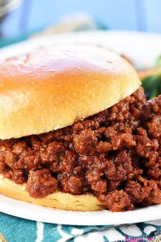 The Best Sloppy Joes Chef In Training. Homemade Sloppy Joes Recipe {From Scratch} TheDirtyGyro. Homemade Sloppy Joes Recipe {From Scratch} VIDEO! Home and Family Best Homemade Sloppy Joe Recipe, Homemade Sloppy Joes, Tomato Soup Sloppy Joe Recipe, Easy Sloppy Joes, Barbecue Sloppy Joe Recipe, Healthy Sloppy Joe Recipe, Healthy Sloppy Joes, Slow Cooker Sloppy Joes, Hamburgers