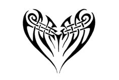 """When combining tribal artwork with the intricate designs of a """" Celtic tattoo """" the results can be astonishing. Celtic Tribal Tattoos, Tribal Heart Tattoos, Bear Tattoos, Body Art Tattoos, Tatoos, Tattoo Celtic, Stammestattoo Designs, Celtic Designs, Free Tattoo Designs"""