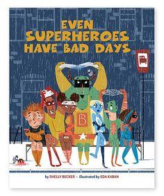 Look at this #zulilyfind! Even Superheroes Have Bad Days Harcover #zulilyfinds