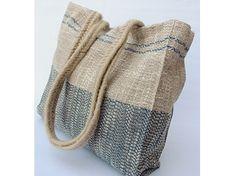 #Bolso MAIMIÑO de #tejido natural hecho en #telar #tradicional. ¡Clica para saber más!