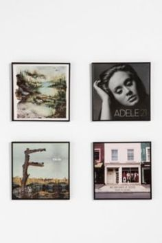 Wood Record Frame - Urban Outfitters