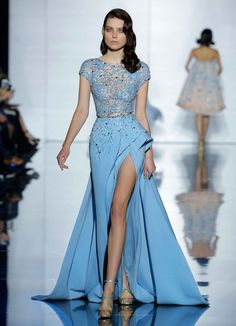 Zuhair Murad - Couture Spring 2015. Love *_*                                                                                                                                                                                 More