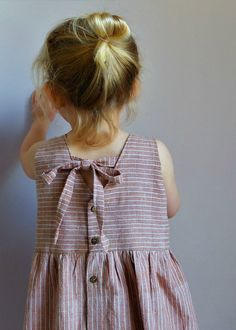 Beautiful Handmade Cotton Pocket Dress | YouAreSmall on Etsy
