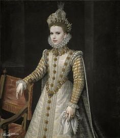 scarlett is infanta isabel by malditoamo 9th place entry in Modern Renaissance 19