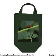 Our Ladybug tote bags are great for carrying around your school & office work, or other shopping purchases. Balance Beam, Ladybug, Beams, Reusable Tote Bags, Lady Bug, Ladybugs, Exposed Beams