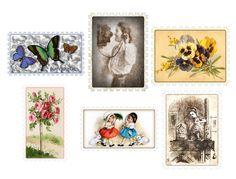#free #scrapbook  #craft  #hobbies  #hobby #embelishment #element #design #ornamental #decorative #postage-stamp #stamp #mail #sticker