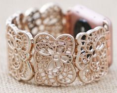 Apple Watch Band 38 mm Apple Watch Band 42 mm Apple Watch Band Apple Watch Band Rose Gold Apple Watch Band 38 mm Woman iWatch Band Bracelet by GirlTechFinds on Etsy Best Apple Watch, Rose Gold Apple Watch, Apple Band, Apple Watch Bands, Apple Watch Bracelets, Apple Watch Accessories, Rose Gold Watches, Gold Bands, Ring Designs