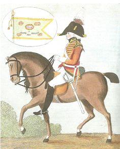 Oficial del 5º de Dragones (regimiento de la princesa Charlotte de Gales). Más en www.elgrancapitan.org/foro