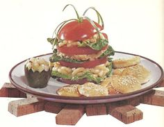 Tomato Salad Stacks (Family Circle Illustrated Library of Cooking, Volume 11, 1972)