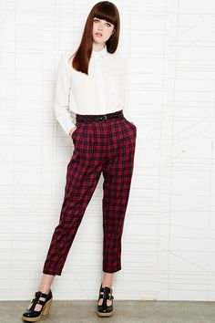 Tartan trew, anyone? #urbanoutfitters #winter #check
