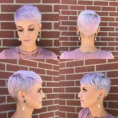 Today we have the most stylish 86 Cute Short Pixie Haircuts. We claim that you have never seen such elegant and eye-catching short hairstyles before. Pixie haircut, of course, offers a lot of options for the hair of the ladies'… Continue Reading → Short Hair Cuts For Women, Short Hairstyles For Women, Very Short Haircuts, Pixie Hairstyles, Pixies, Hair Looks, Hair Inspiration, Curly Hair Styles, Hair Beauty