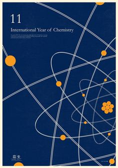 from aisleone.net    In 2009, Simon Page created a series of wonderful posters to promote the International Year of Astronomy. This year he created another stellar series to increase the appreciation of Chemistry.