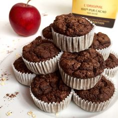 light muffins with 35 calories! Healthy Breakfast Muffins, Eat Breakfast, Breakfast Recipes, Healthy Cheesecake, Healthy Cake, Healthy Food, Dessert Healthy, Doce Light, Dessert Light