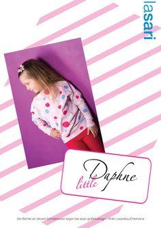 Nähanleitungen Kind - ✿ E-Book littleDaphne ✿ Mädchenshirt - ein Designerstück von lasari-design bei DaWanda