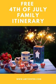 Celebrate the 4th of July as a Family This Year   Intentional Living Happy 4 Of July, 4th Of July, Firework Stands, American Flag Crafts, Water Balloon Fight, Book Outline, Singing The National Anthem, Monthly Themes, Business For Kids