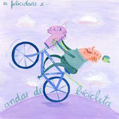 Felicidade é andar de bicicleta - 25 DE MARÇO - Felicidário