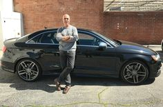 Celebrity Drive: Titus Welliver, Star of Amazon's Bosch: Titus Welliver, Mustang, Centre, Audi, Celebrity, Amazon, Stars, Mustangs, Amazons