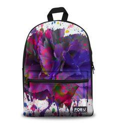Brand Design Galaxy Print Space School Backpack For Girls Teenager Backpack For Kids Casual Children Women Travel Rucksack Colorful Backpacks, Cool Backpacks, Canvas Backpacks, Stylish Backpacks, Graffiti, Cartoon Bag, Floral Backpack, School Bags For Girls, Canvas Shoulder Bag