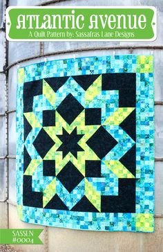Atlantic Avenue Quilt Pattern  This is almost the right colors, even! :)