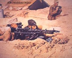DAK Infantry MG-34