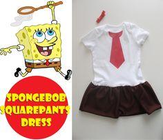 My Own Road: Spongebob Squarepants dress
